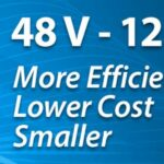 Efficient Power Conversion 48V - 12V