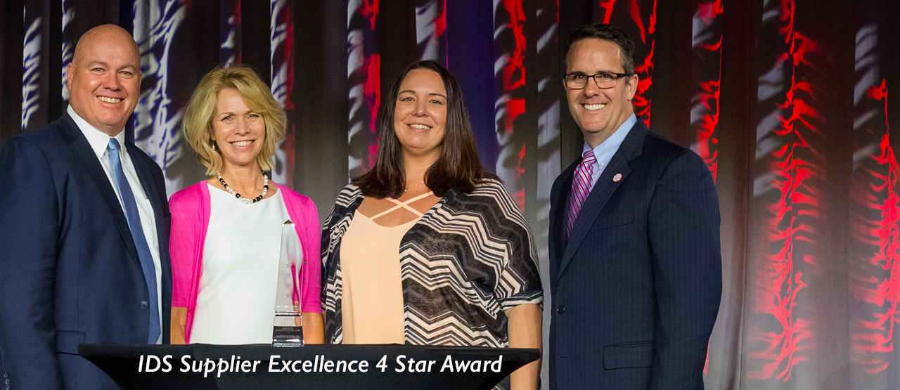 IDS Supplier Excellence 4-star Award for Spirit Electronics