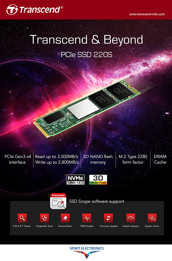 Transcend memory products