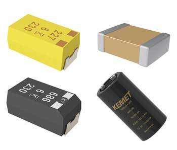 KEMET capacitors
