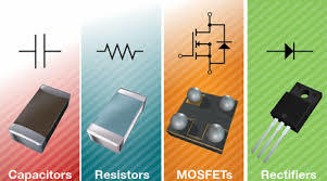 Vishay capacitors, resistors, MOSFETs and rectifiers