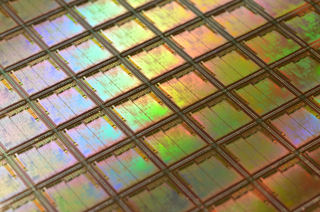 silicon wafer test at Spirit Electronics