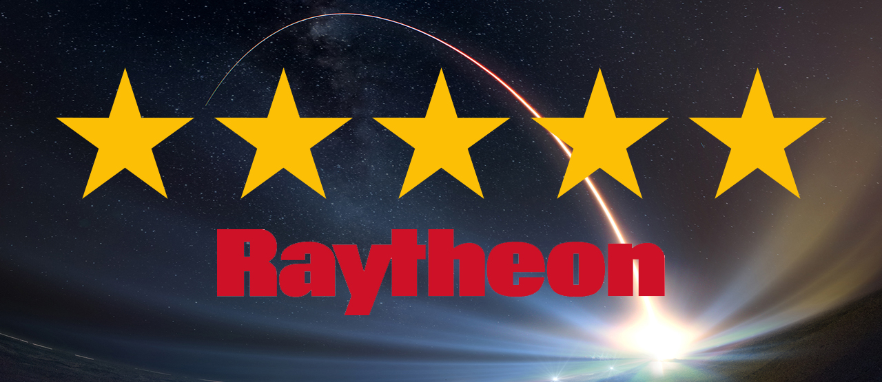 5 Star Award from Raytheon