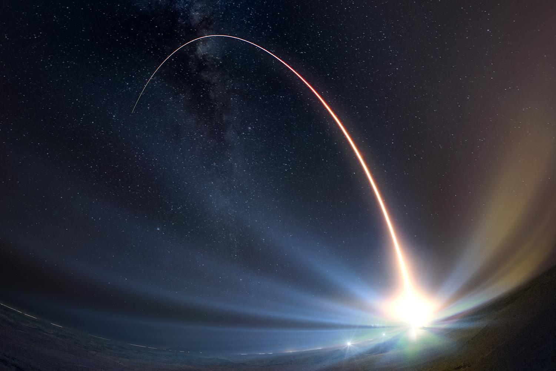 Raytheon Rocket Launch
