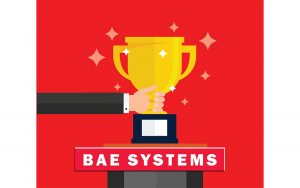 BAE Systems' Gold Tier Supplier Award