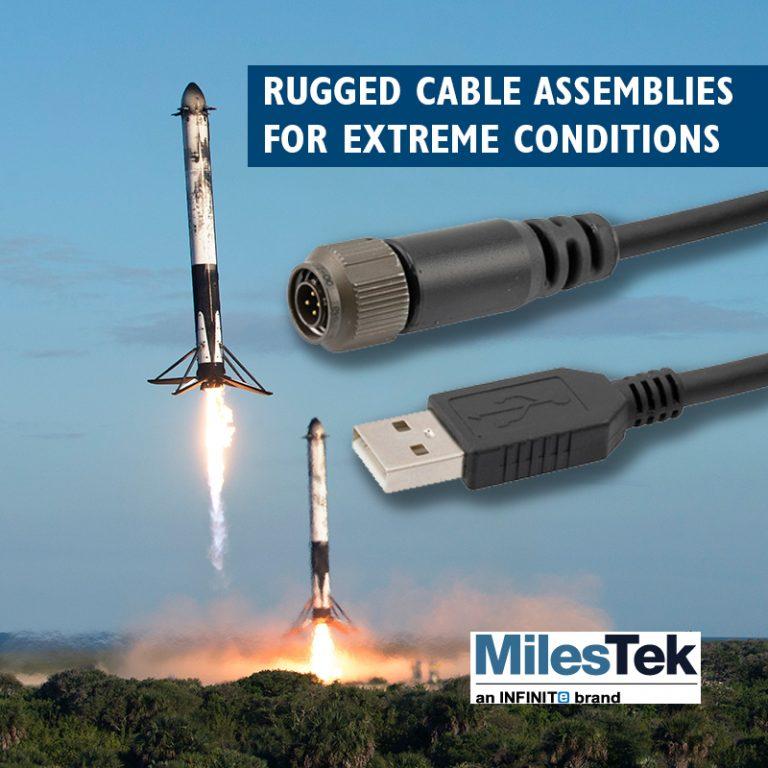 MilesTek rugged cable assemblies