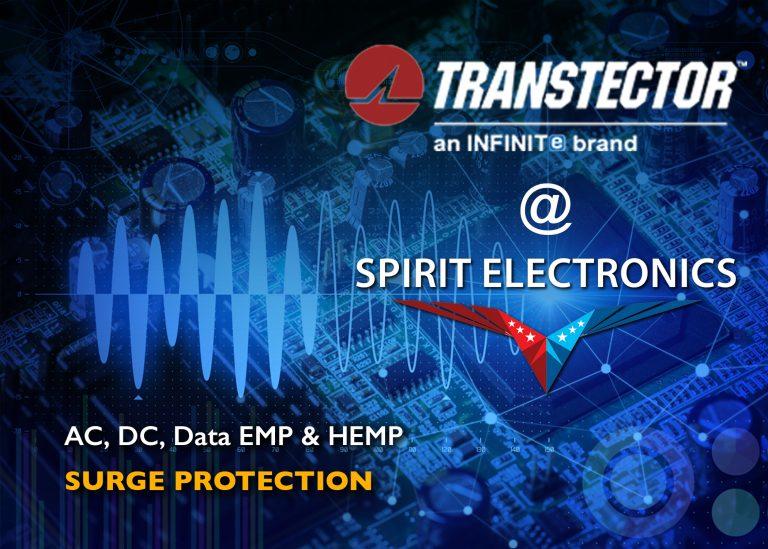 Transtector at Spirit Electronics AC DC Data EMP and HEMP Surge Protection