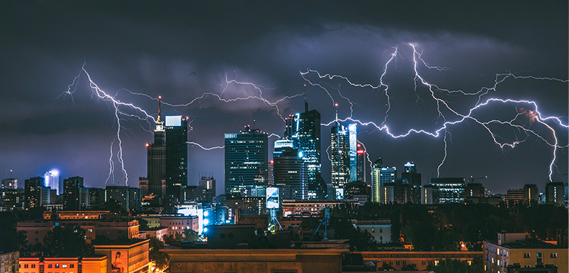 surge protection against lightning