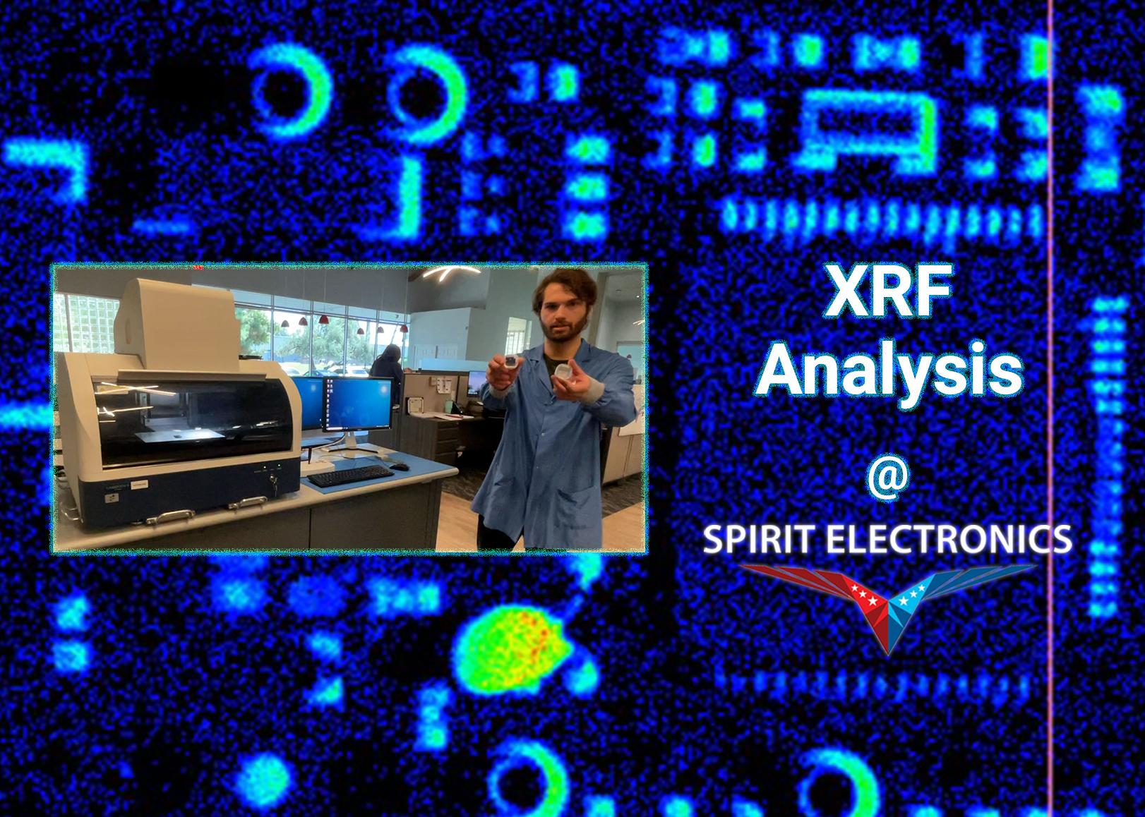 XRF Analysis Nick Pb scan
