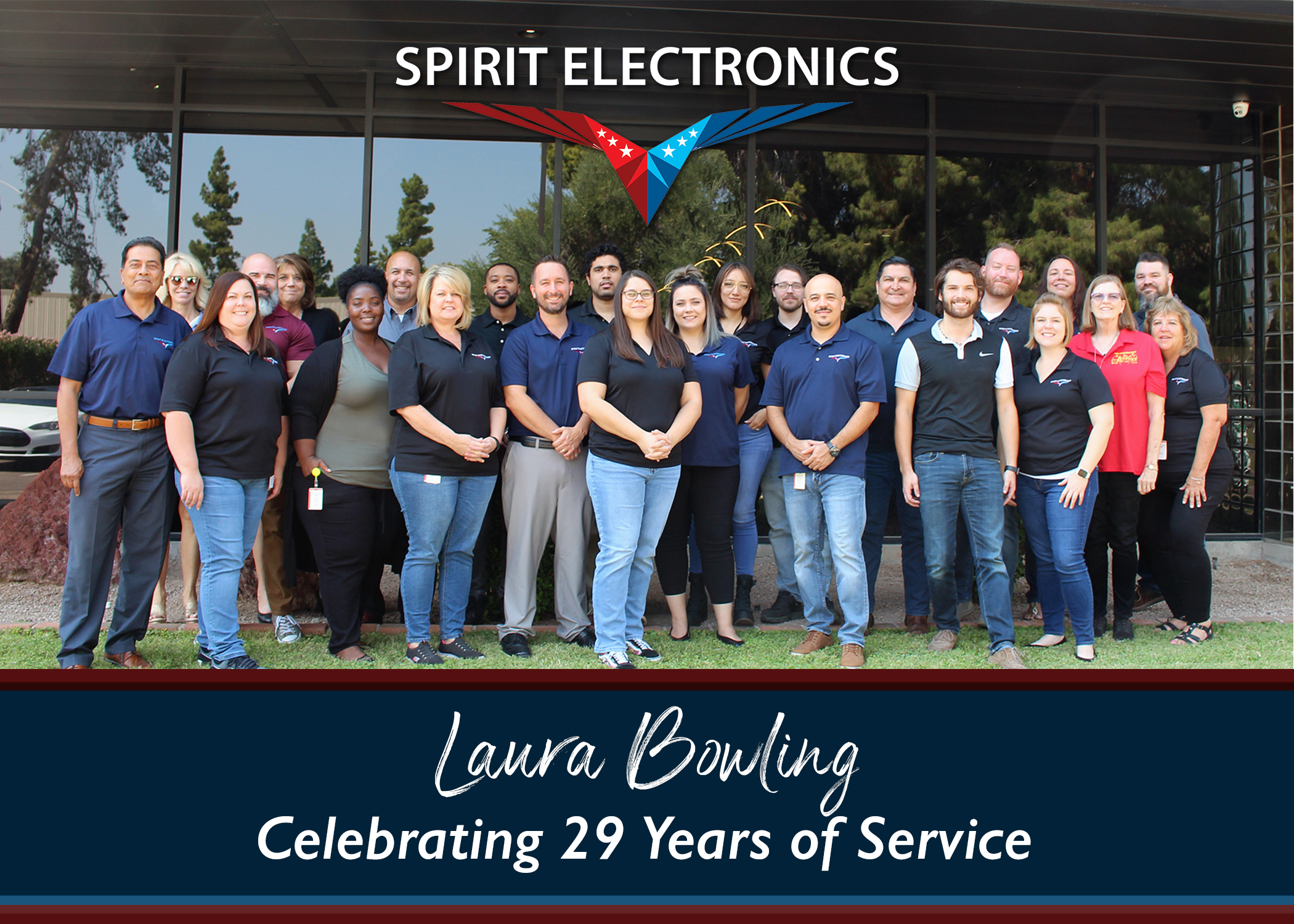 Laura Bowling Retires after 29 years with Spirit