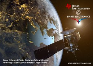 TI Space EP @ Spirit rad-tolerant space grade for New Space applications